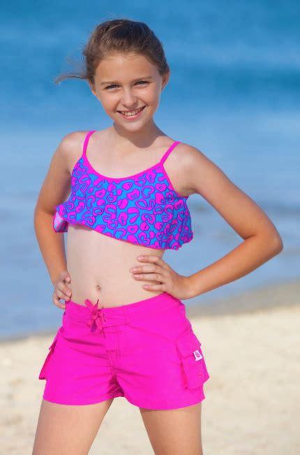 Junior Girls Swim Shorts