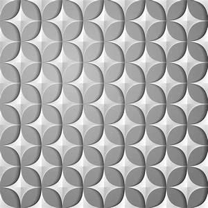 papiermuster, vektor, abbildung, , illustration, von, grau