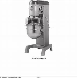 Hobart D330 Mixer Wiring Diagram
