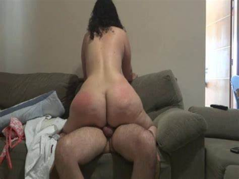 Milf With Fat Butts Riding Penis On Chair