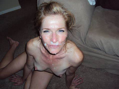 Alluring Girlfriend Jerking Until Facials Celebrity Facials Spunk Shots