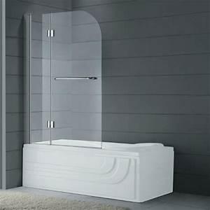 Paroi Douche Sur Mesure Pas Cher : paroi verre baignoire maison design ~ Edinachiropracticcenter.com Idées de Décoration