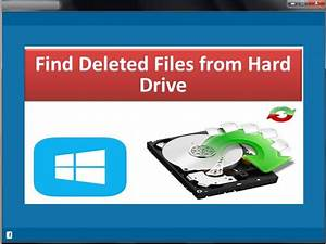 retrieve files from hard disk partition With search lost documents