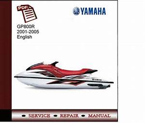 Yamaha Gp800r 2001-2005 Service Manual