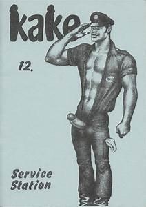 kake 12 vintage tom of finland illustrated magazine