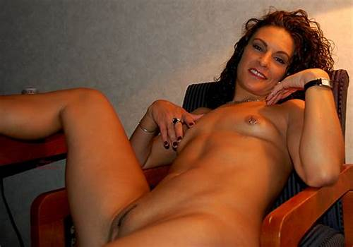 Fine Red Haired Pierced Nipples #Naked #Brunette #In #Chair #With #Pierced #Nipples