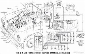 1965 Ford F100 Alternator Wiring Diagram
