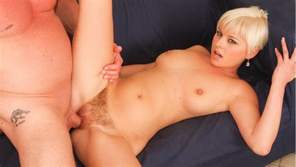 #Short #Haired #Blonde #Babe #Gets #Her #Trimmed #Pussy #Banged
