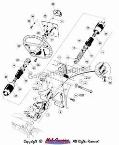 25 Club Car Steering Parts Diagram
