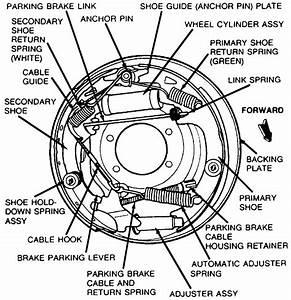 91 Ford Ranger Drum Brake Diagram