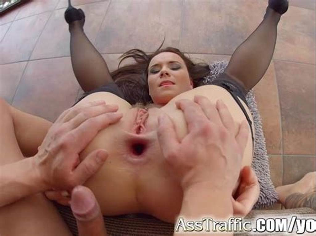 #Asstraffic #Hairy #Babe #Gets #Her #Tight #Ass #Fucked #Hard
