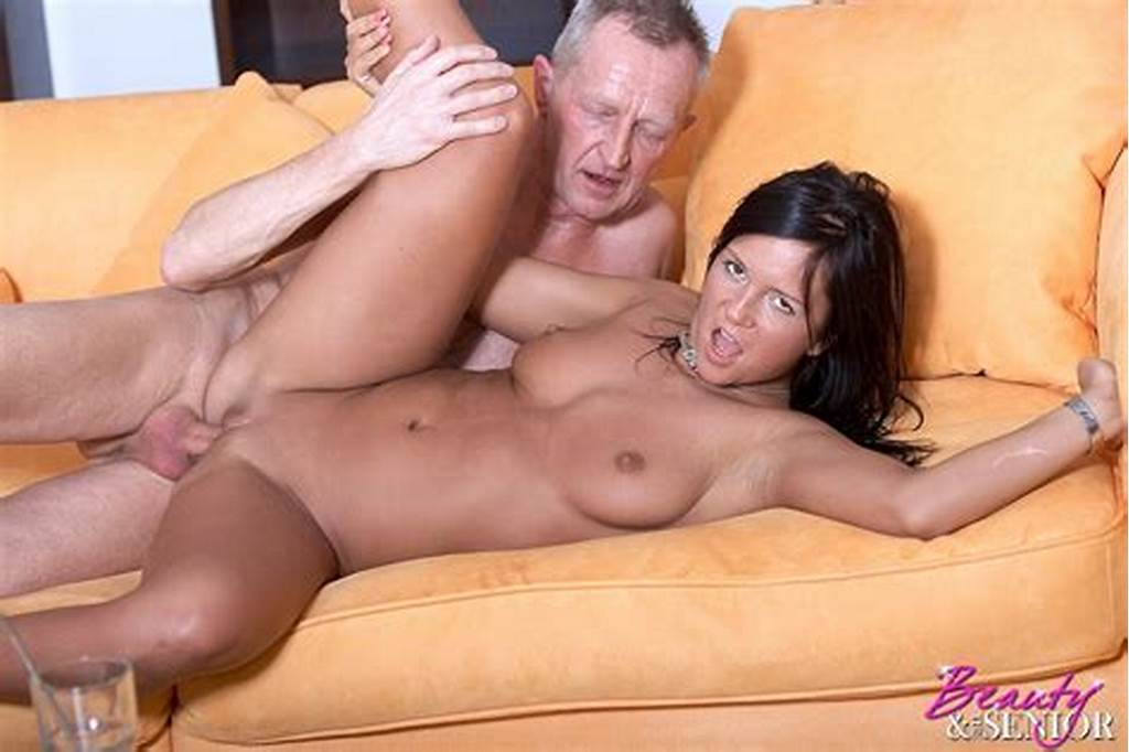 #Cute #Teenage #Brunette #Gets #Fucked #By #A #Horn #Senior