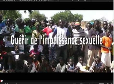Guérir l'impuissance sexuelle - leFaso.net, l'actualité au ...