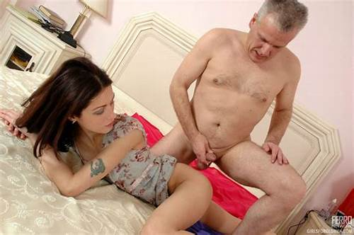 Beautiful Curly Girl Emma Fucking Her #Old #Young #Sex
