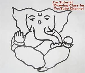Ganesh Drawing Simple | www.pixshark.com - Images ...