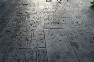 Faire Un Moule Pour Béton : terrasse beton moule nos conseils ~ Melissatoandfro.com Idées de Décoration