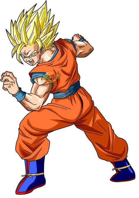 Goku ssj 2 by jaredsongohan on DeviantArt