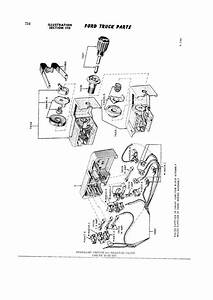 1960 F100 Fuse Block  Headlight Switch