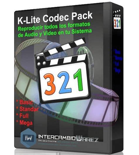 Bu pakette tüm videolar için gerekli olan codecleri bulabilir ve kurabilirsiniz. K-lite Codec Pack 11.0.5 + Update 11.0.6 Build MEGA Codec para Video y Audio 2015 « Intercambio ...