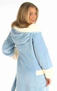Bademantel Damen Lang : eleganter sch ner luxus bademantel lang blau damen ~ Watch28wear.com Haus und Dekorationen