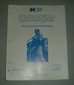 Data East Robocop Manual