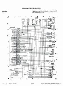 Wiring Diagram Dodge Caravan
