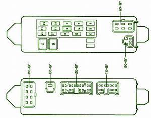 1996 Mazda Protege Fuse Diagram