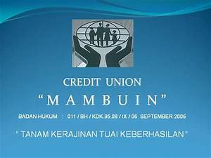 Motivasi Credit Union