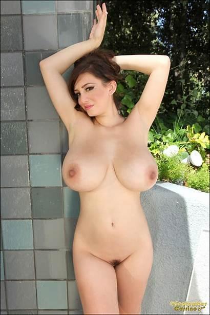 September Carrino Tits Naked Bikini Busty Shower