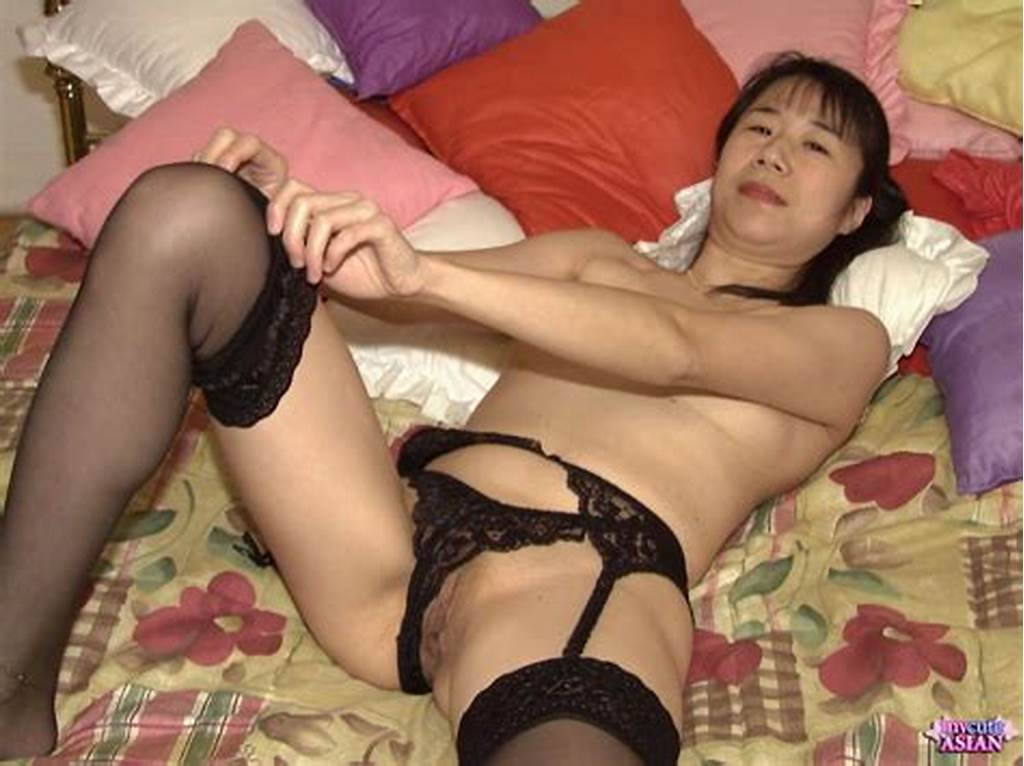 #My #Cute #Asian #Milf #Asian #Fingers #Her #Hairy #Pussy