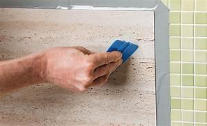 Vinyl Fliesen Wand : k chenspiegel mit vinylfliesen k che bad sanit r ~ Watch28wear.com Haus und Dekorationen