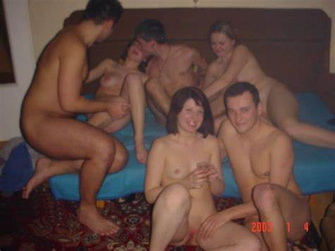 Homemade Swingers Party At The Club Cam Gangbang