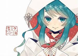 Aqua, Eyes, Aqua, Hair, Close, Drink, Hatsune, Miku, Japanese, Clothes, Kimono, Nijita18, Vocaloid, Wedding