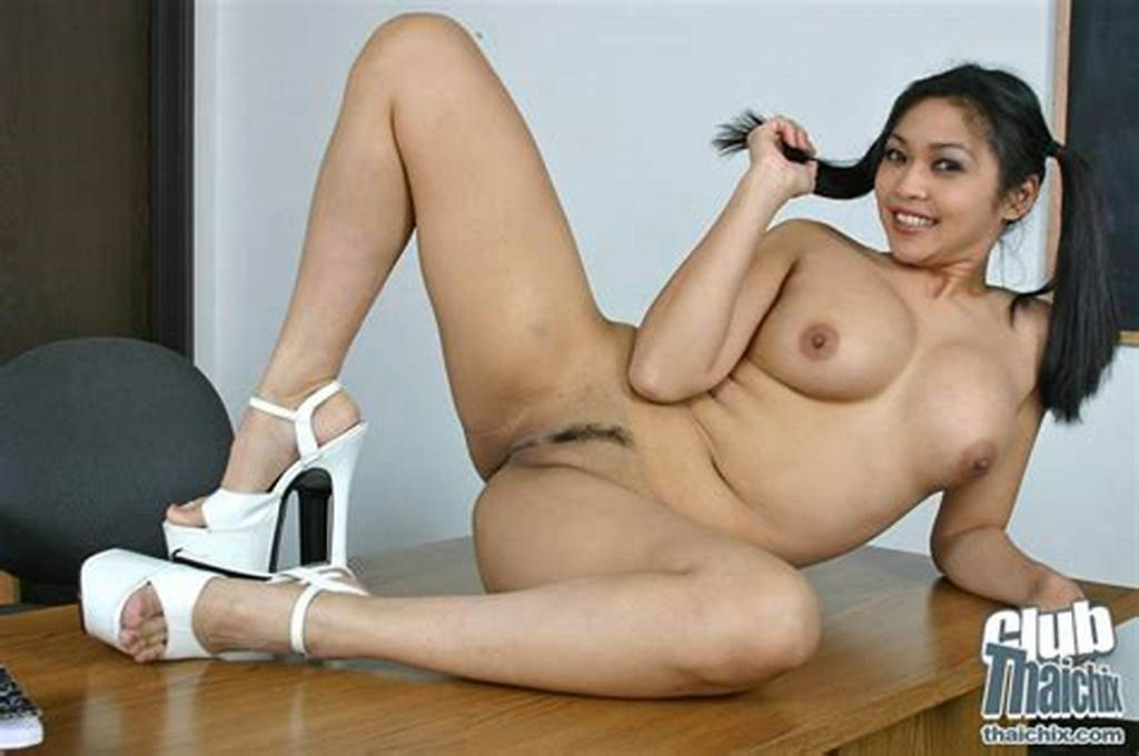 #Pigtail #Girl #Mika #Tan #Strips #And #Spread #Her #Leg #To #Show #Up