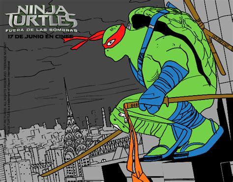 Dibujo de Leonardo de Ninja Turtles pintado por Antoi en