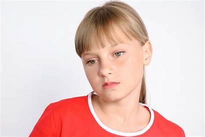 Preteen Daughter Teenager Sad Crisis Hardest Faith
