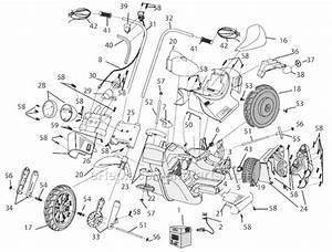 Power Wheels B3160 Parts List And Diagram