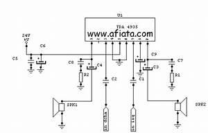 12w Audio Amplifier Circuit Using Tda4935