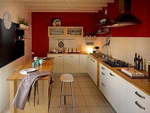 Couleur peinture cuisine 10 idees couleurs pour cuisine for Deco cuisine avec chaise de cuisine de couleur
