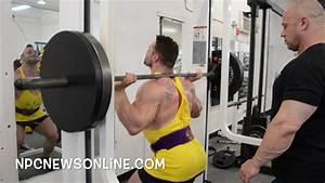 Npc Bodybuilder Charlie Williams Leg Workout At The Npc Photo Gym
