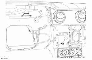 Where Does The Factory Satellite Antenna On A 2007 Mustang Gt Connect To The Sirius Receiver  I