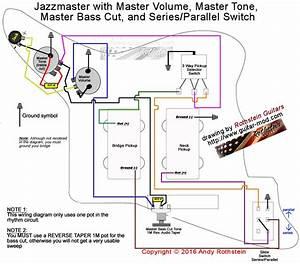 Jazzmaster Wiring Series  Parallel Switching