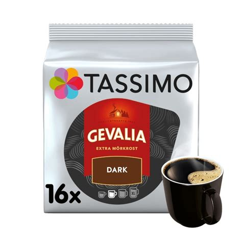 Founded in gavle, sweden in 1853, gevalia dark gold roast ground coffees are made from 100% arabica beans sourced from around the world. GEVALIA DARK ROAST - Coffee - Tassimo