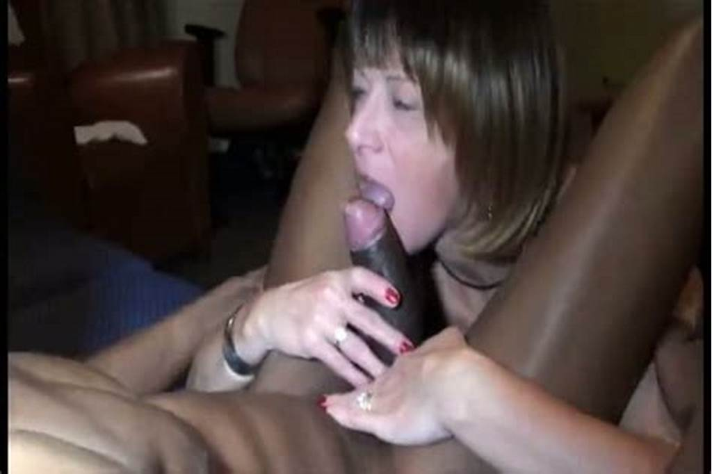 #Mature #Wife #Sucks #On #A #Big #Black #Cock