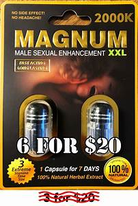 3x Magnum Sex Pills Male Enhancement Strong Effective 100  Original Pill  U00b7 Save Real Bargains