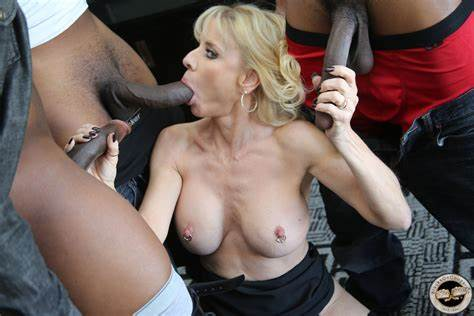 Milf Roughly Drilled By Orgy Guys