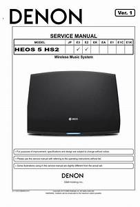 Denon Heos 5 Hs2 Wireless Speaker Service Manual And