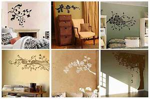 Bedroom Wall Design Ideas Decor With How To Decorate A ...