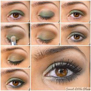 Maquillage Pour Yeux Marron : maquillage bio pour les yeux marrons verts bleus make ~ Carolinahurricanesstore.com Idées de Décoration