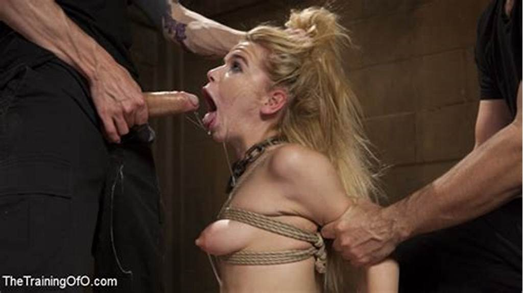 #Petite #Teen #Slave #Alina #West #Anal #Sex #While #Bound